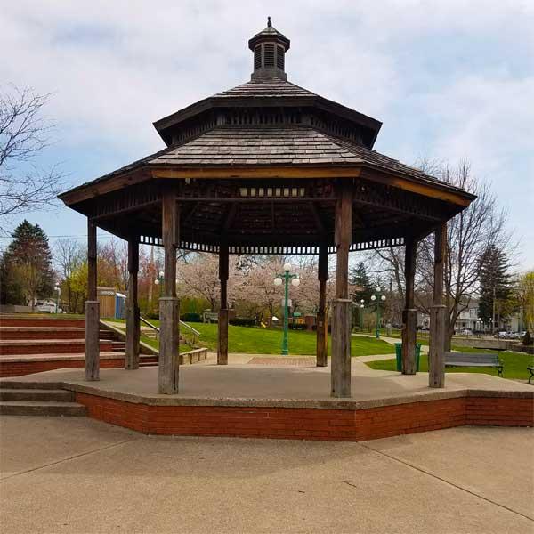 Warriors Path State Park Basketball Court: Borough Of Lewisburg Pennsylvania
