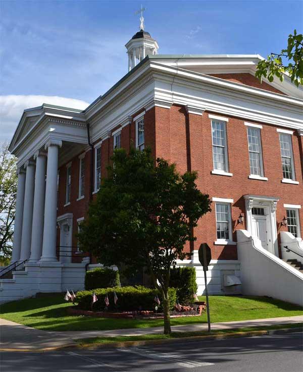 union county courthouse borough of lewisburg pennsylvania